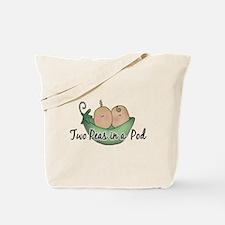 Twins (pea pods) Tote Bag