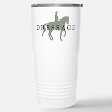 Piaffe w/ Dressage Text Travel Mug