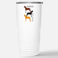 Tennessee Walkers in Colors Travel Mug