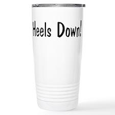 heels down horse saying Travel Mug