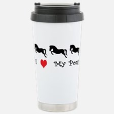 i love my pony Stainless Steel Travel Mug