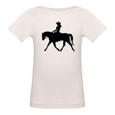 Cute Cowgirl on Horse Tee