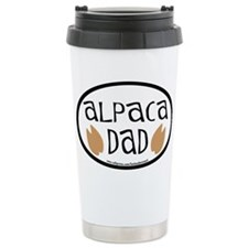 Alpaca Dad Oval Travel Mug