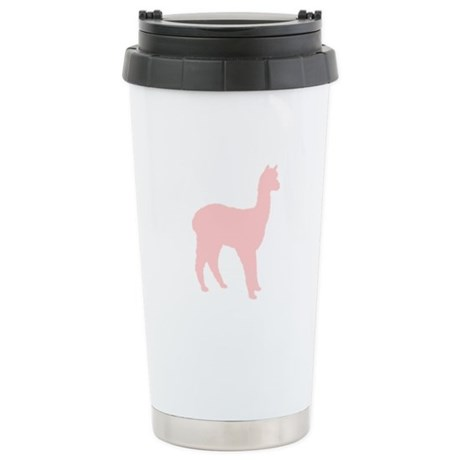 Alpaca (Style #2) Color Stainless Steel Travel Mug