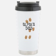 Alpaca Dad Stainless Steel Travel Mug