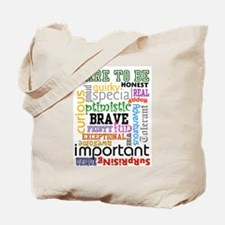 """""""Dare to Be"""" Tote Bag"""