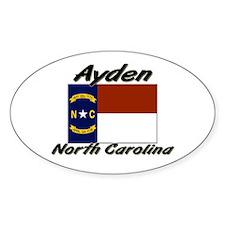 Ayden North Carolina Oval Decal