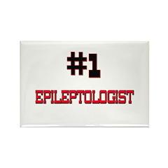 Number 1 EPILEPTOLOGIST Rectangle Magnet (10 pack)