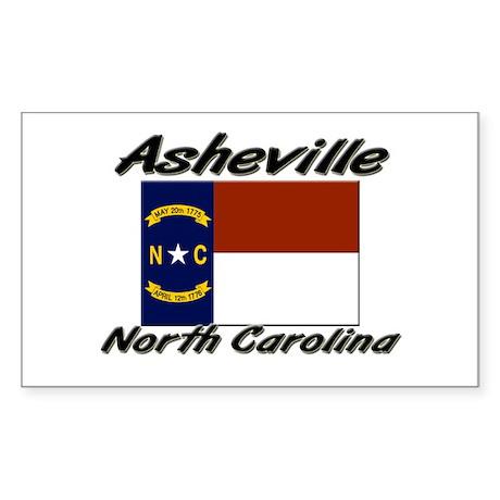 Asheville North Carolina Rectangle Sticker