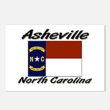 Asheville North Carolina Postcards (Package of 8)