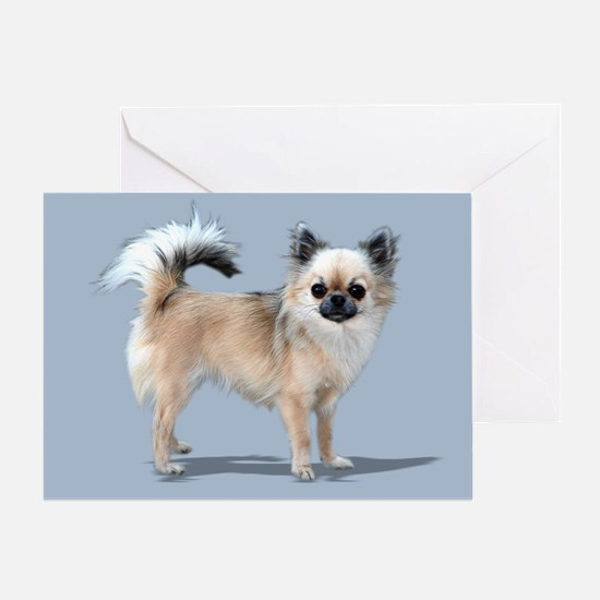 Longhaired Greeting Card