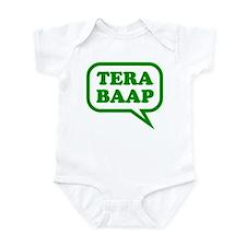 Tera Baap. Infant Bodysuit