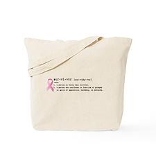 Survivor-Defined Tote Bag
