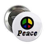 "Peace 2.25"" Button"