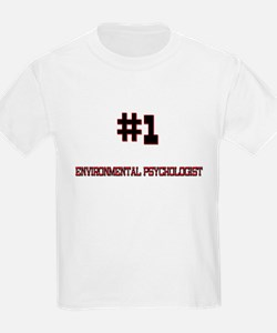 Number 1 ENVIRONMENTAL PSYCHOLOGIST T-Shirt