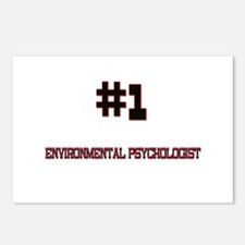Number 1 ENVIRONMENTAL PSYCHOLOGIST Postcards (Pac