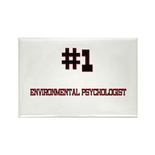 Number 1 ENVIRONMENTAL PSYCHOLOGIST Rectangle Magn