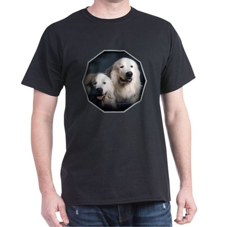 Great Pyrenees Dark T-Shirt, PyrCouple2