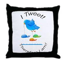 Twitter Throw Pillow