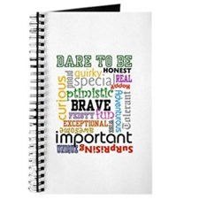 """Dare to Be"" Journal (white)"