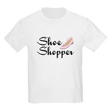 Shoe Shopper Girl T-Shirt