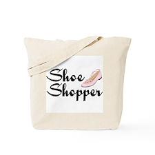Shoe Shopper Girl Tote Bag