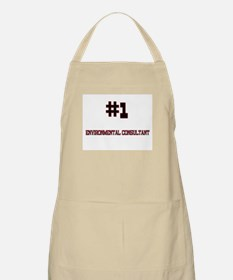 Number 1 ENVIRONMENTAL CONSULTANT BBQ Apron
