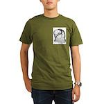 Reinaugen Pigeon Organic Men's T-Shirt (dark)