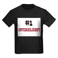 Number 1 ENTOZOOLOGIST Kids Dark T-Shirt