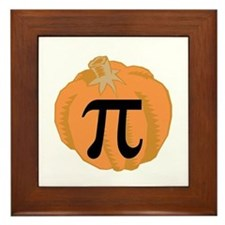 Pumpkin Pie (Pi) Framed Tile