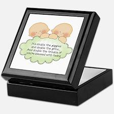 Twin Giggles Keepsake Box