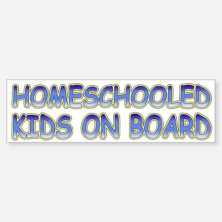 Homeschooled Kids On Board