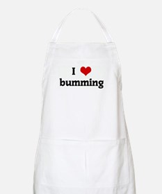 I Love bumming BBQ Apron
