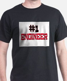 Number 1 ENGINEER T-Shirt