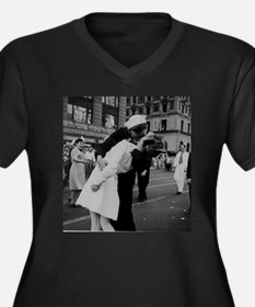 ww2TheKiss.jpg Plus Size T-Shirt