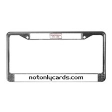 Find Yourself in a Card License Plate Frame