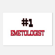 Number 1 EMETOLOGIST Postcards (Package of 8)