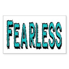 Fearless Rectangle Decal