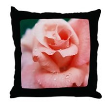 Rose Bud - Throw Pillow