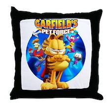 Garfield's Pet Force Throw Pillow