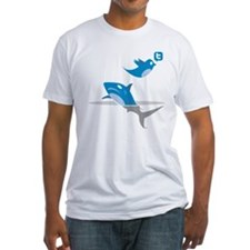 Twitter Has Jumped the Shark T-Shirt (white)