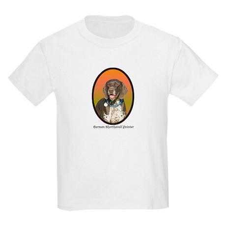Geman Shorthaired Pointer Kids T-Shirt