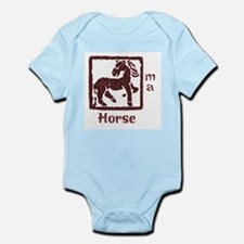 Zodiac Horse Infant Creeper