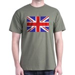 British Flag Black T-Shirt
