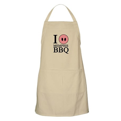 I Love Memphis BBQ BBQ Apron