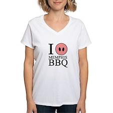 I Love Memphis BBQ Shirt