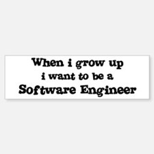 Be A Software Engineer Bumper Bumper Bumper Sticker