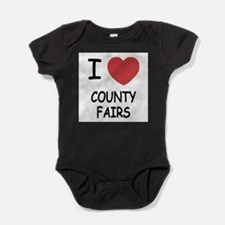 i heart county fairs Body Suit