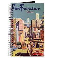 Vintage Travel Poster San Francisco Journal