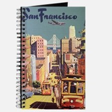 Vintage Travel Poster San Francisco Journal